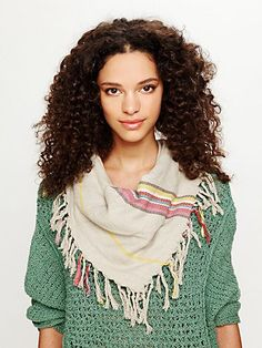 It looks so nice and soft. Bonus the Lemlem look without the sticker shock Free People Fringed Stripe Scarf