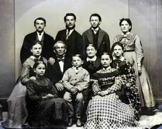 Jesse James and family