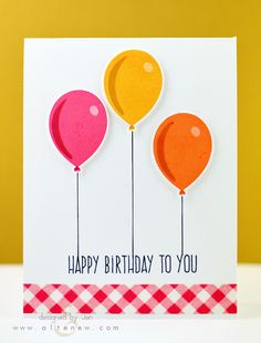 Card makers always need a variety of birthday sentiments, since it is one of the most popular occasions for sending cards! This will be an amazing set to add to your collection. It includes birthday g