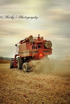 Love this shot... but it'd be better if it was a green combine
