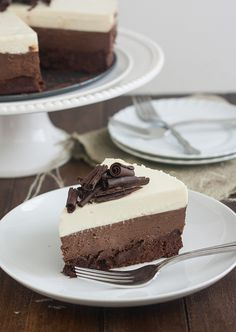 Wow!  Chocolate Mousse Cake
