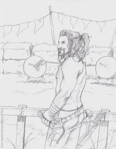 """""""You were saying brother?""""  (Insert picture I was too lazy to draw of Kili crying into his arrows.)"""
