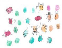 Fingerprint characters