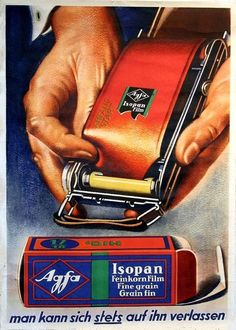 Agfa • Isopan film ~