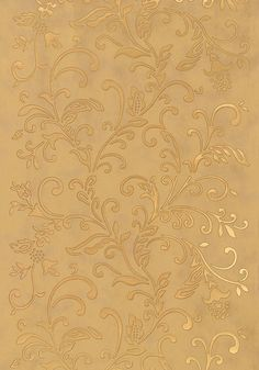 Montreal #wallpaper in #metallic #gold from the Artisan collection. #Thibaut