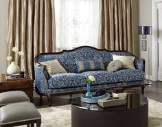 CLASSIC LIVING #classic #clasica #uphosltery #tapiceria #tapisseria #sofa #saumundviebahn #ontariofabrics