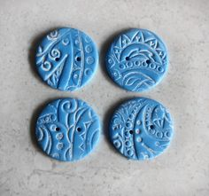 Polymer Clay Embellishments for Sewing, Scrapbooking and More with Anke Humpert #craftartedu online class