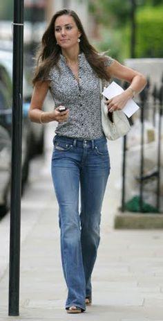 Kate Middleton Diesel jeans.
