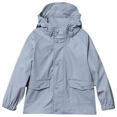 Mini A Ture Julien Rain Jacket Ashley Blue Ashley Blue