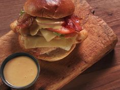 Fried Chicken BLT Melt Recipe : Nancy Fuller : Food Network - FoodNetwork.com