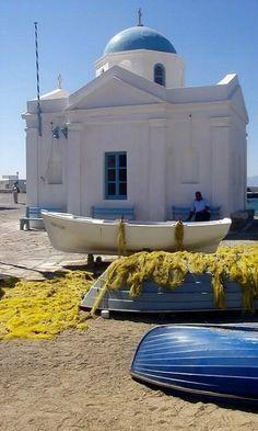 Agios Nikolaos Church ~ Mykonos Island, Greece