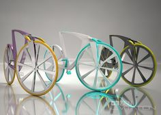 High-Tech Levitation bike generates electricity