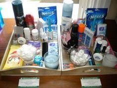 Bathroom Baskets Pics | Weddings, Do It Yourself | Wedding Forums | WeddingWire