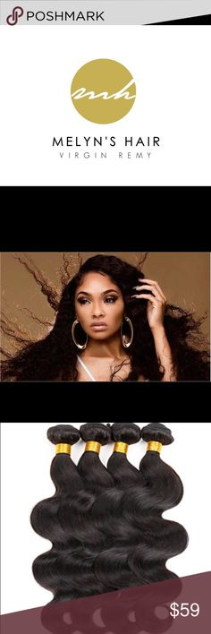 Raw Virgin Remy Human Hair Authentic Indian Virgin Hair on sale, please visit us at melynshair.wix.com/collection Melyns Hair Other