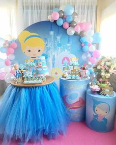 Far Beyond Perfect Princess Birthday Party Ideas and Decorations Disney Princess Birthday Party, Cinderella Birthday, Pig Birthday, Princess Theme, Birthday Table, Balloon Decorations Party, Birthday Party Decorations, Birthday Parties, Balloons