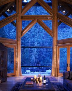 Gorgeous place to be away in the woods or mountains