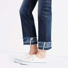Rivet & Thread High-Rise Boyjeans: Double-Hem Edition