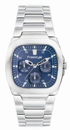 Freestyle Men's FS21030 Velvet Shark Bracelet Watch Freestyle. Save 67 Off!. $29.99. Stainless-steel case; Blue dial. Case diameter: 45 mm. Quartz movement. Water-resistant to 330 feet (100 M). Mineral crystal