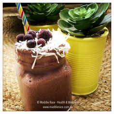 Lexie's Dream - a yum blend of berries with some hidden veggies.