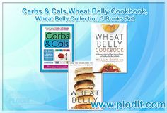Carbs & Cals,Wheat Belly Cookbook,Wheat Belly,Collection 3 Books Set at Wholesale Price. #cookbook #dietcollection #dietbooks #booksforsale #wholesalebooks