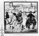 Lydgate and his companions on a pilgrimage to Canterbury.