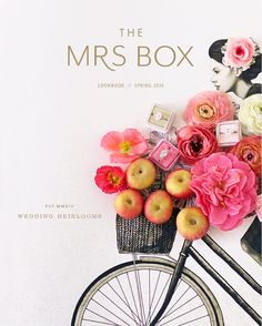 Did you see the new @the_mrs_box Spring 2016 Ring box collection and lookbook? If not go check it out on their profile.. and they even have a new logo. Design by @greylikes and @maemae_co styling and floral @tulipinadesign #lookbook by josevilla