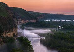 Русло реки Кубань, граница Ставропольского края и Карачаево-Черкесской республики.