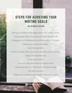 How I Stopped Sabotaging My Writing Goals: Confessions of a Late Bloomer