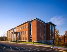 New Campbell Hall Health Sciences Building, West Liberty University - Perfido Weiskopf Wagstaff + Goettel Architects