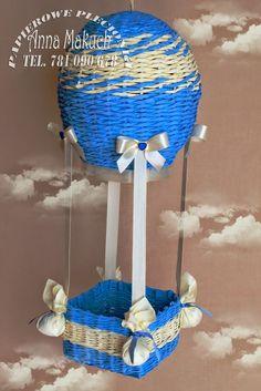 Papierowe plecionki: Bo kogo nie ucieszyłby balonik ???