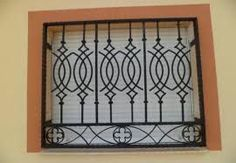 Modern Window Design, Grill Gate Design, Iron Window Grill, Window Grill Design Modern, Iron Windows, Iron Doors, Wrought Iron Window Boxes, Window Security Bars, Door Grill