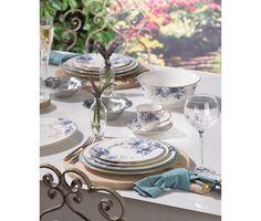 Noritake Crestwood Platinum 50-Pc. Service for 8 | Fine china ...
