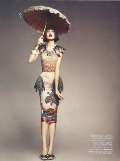 MERMAID SKIRT   Vogue Portugal Fevereiro 2012