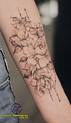 Lotusblume Tattoo, Soft Tattoo, Piercing Tattoo, Time Tattoos, Body Art Tattoos, Tatoos, Sleeve Tattoos For Women, Tattoos For Women Small, Tattoo Feminin