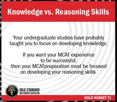 Are you good in MCAT?