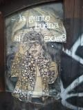 la gente buena si existe (good people indeed exist)...poster found in Zona Rosa, Mexico City