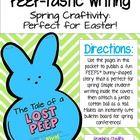 forkin4th: PEEP-tastic writing craftivity {FREEBIE!!}