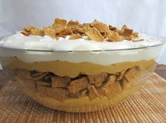 Spiced Pumpkin and Golden Grahams� Cereal Trifle