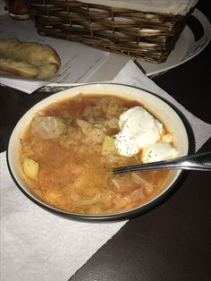Great for cold weather. Russian cabbage soup. Soul food