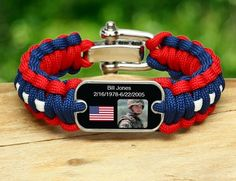 Deployment remembrance bands