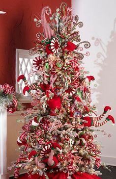 christmas time christmas tree elf legs elf christmas decorations candy cane christmas tree - Christmas Tree Decorations Pinterest