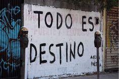 Todo es destino #poesia #calle