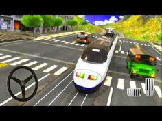 USA Train vs Europe Coach Bus Simulator 2019 - Android Gameplay - YouTube