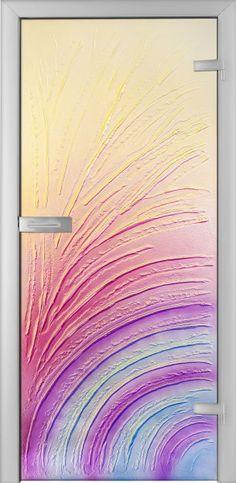 Fused Glass Doors - Cerchi 01