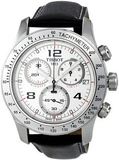 Masculinity exudes from this stunning sports watch. Introducing the stunning Tissot V8 Chronograph. https://www.facebook.com/CertifiedWatchStore