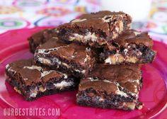 Ooey Gooey Peanut Butter Chocolate Brownies
