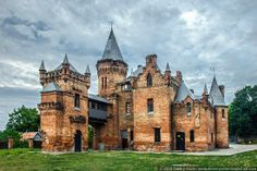 Popov's Castle is an eclectic era manor house built in 1864-1884. It is located near Zaporozhye city in Ukraine.