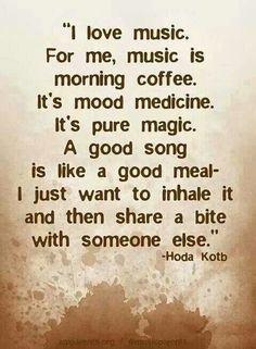 Hota Kotb quotes. Quote. I Love Music