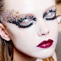 Новогодний макияж 2016: фото и видео