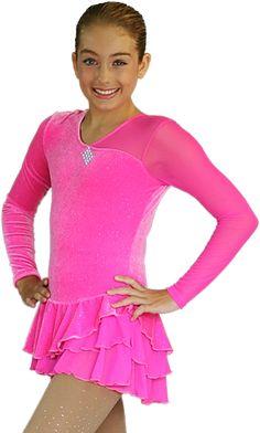 Long Sleeve Sparkle Velvet Dress with Mesh Velvet Fabric: 90% Polyester, 10% Spandex Made in USA Sizes: CXS, CS, CM, CL, CXL/AXS, AS, AM, AL Beaded with clear Swarvoski crystal diamond block